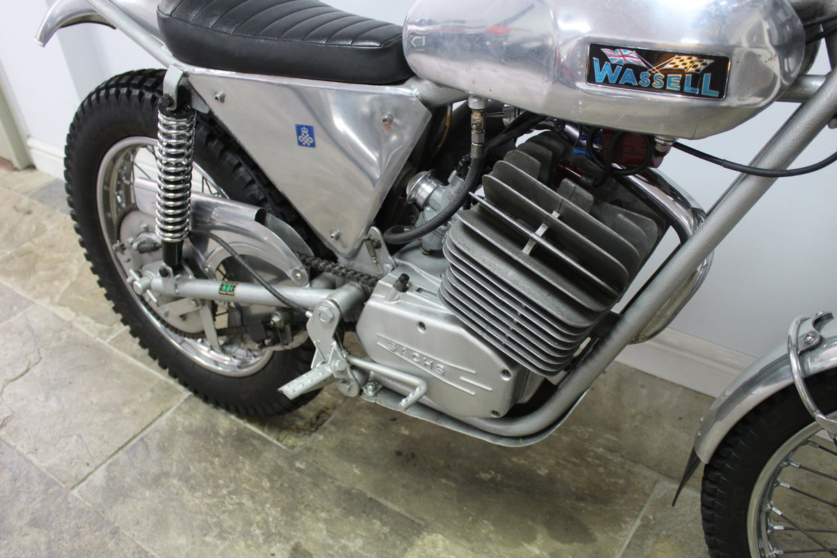 1973 Wassell Antelope Low Fender Trials bike For Sale (picture 3 of 6)