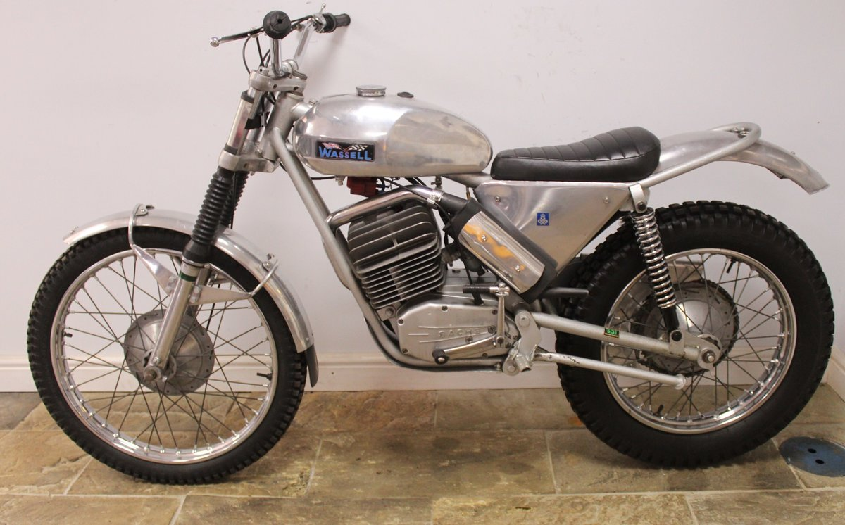 1973 Wassell Antelope Low Fender Trials bike For Sale (picture 4 of 6)