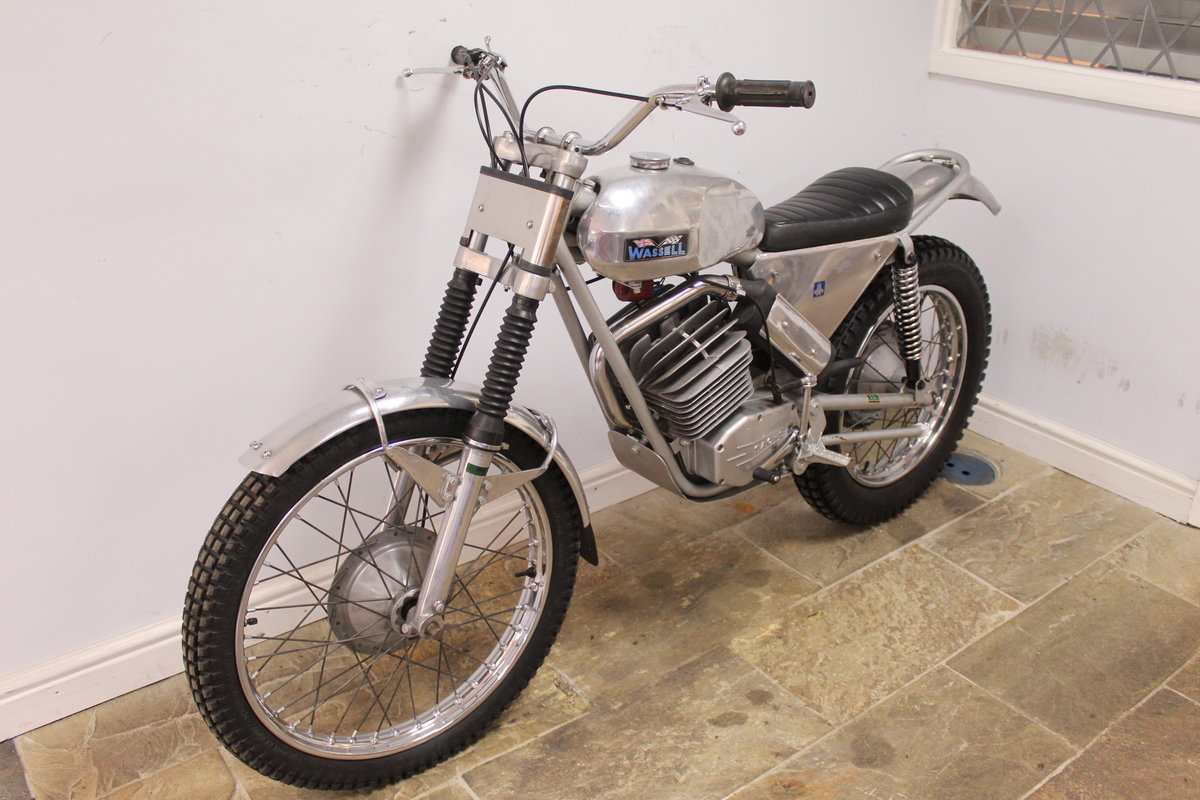 1973 Wassell Antelope Low Fender Trials bike For Sale (picture 5 of 6)