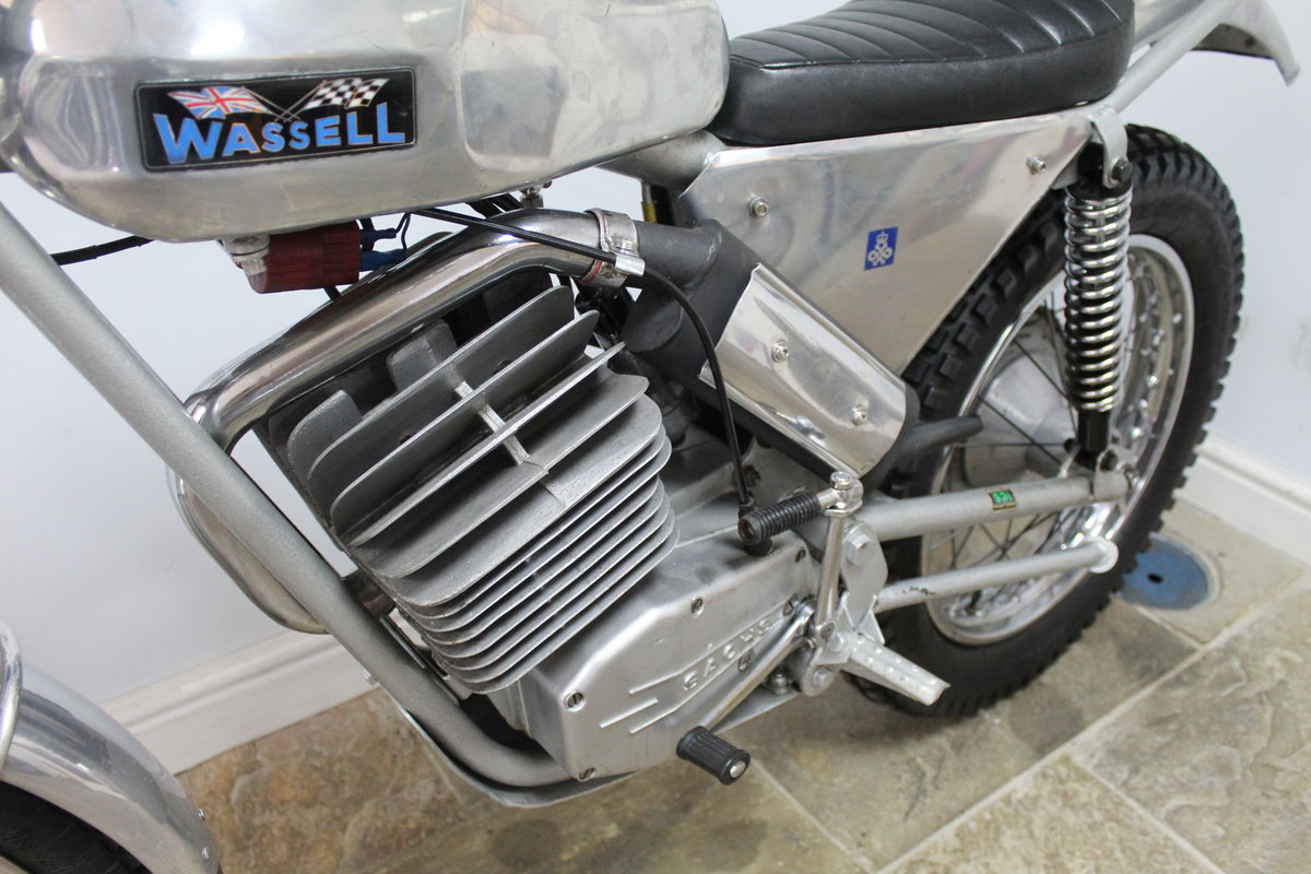 1973 Wassell Antelope Low Fender Trials bike For Sale (picture 6 of 6)