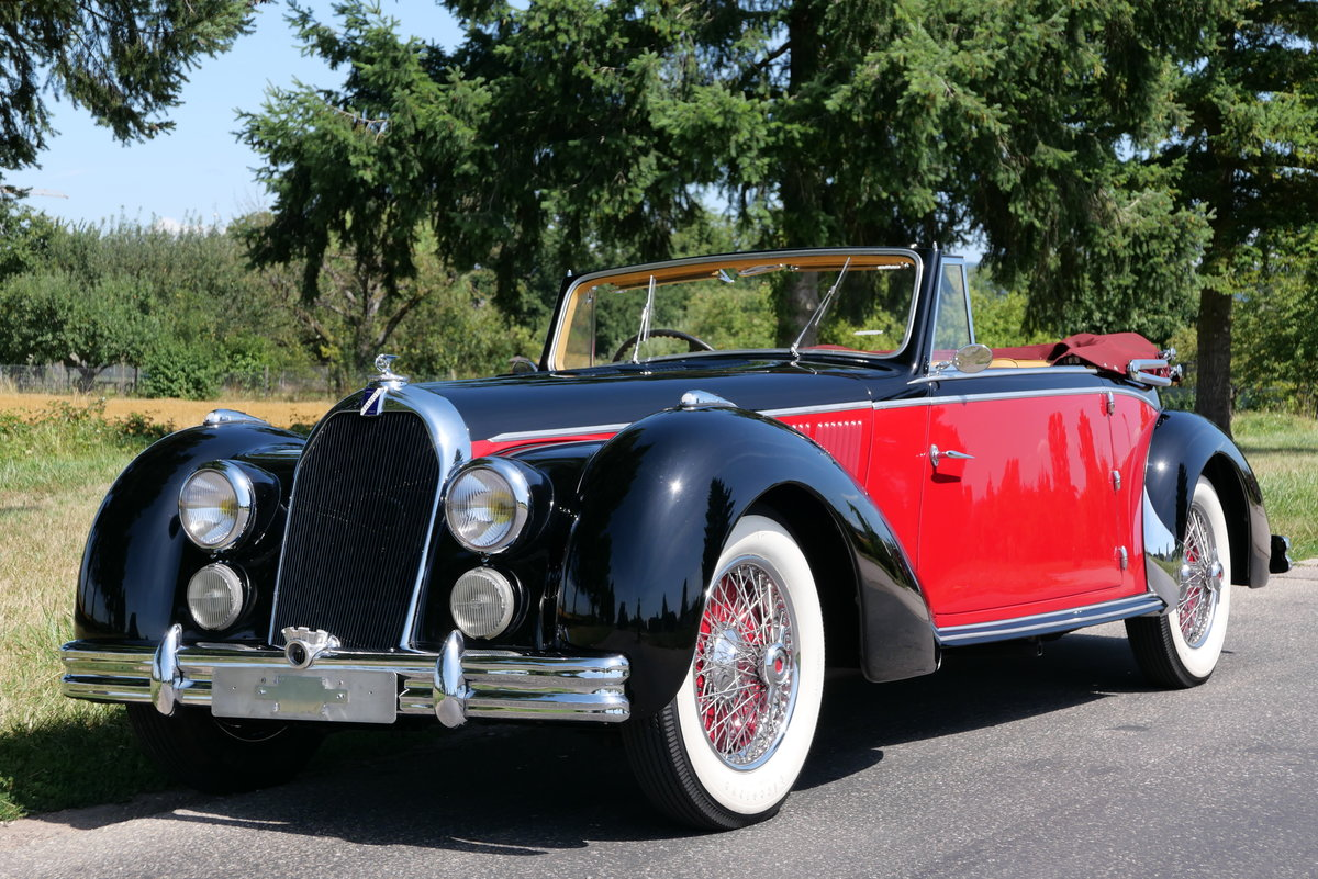 1948 Talbot Lago T26 Record Cabriolet d'Usine For Sale (picture 2 of 6)