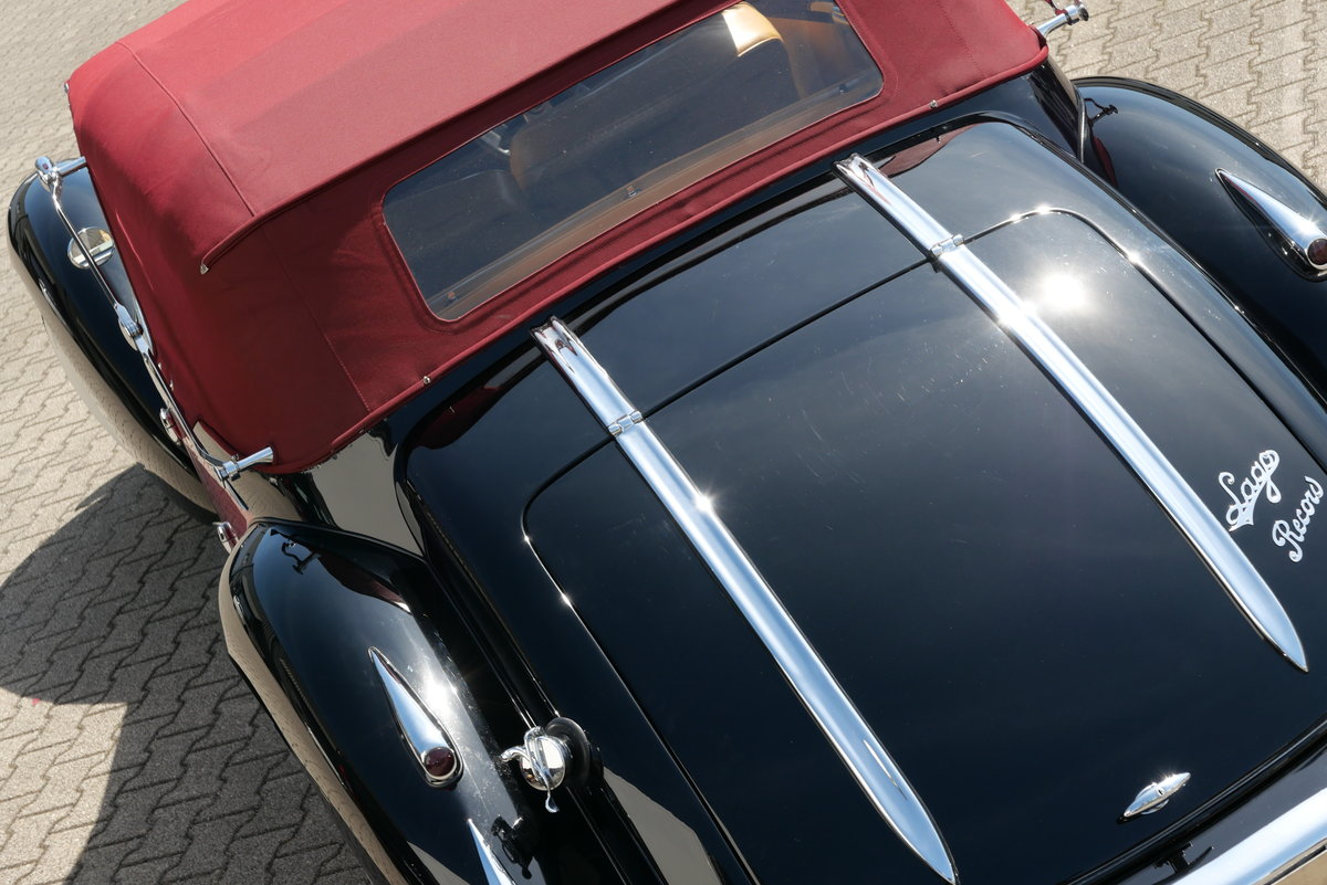 1948 Talbot Lago T26 Record Cabriolet d'Usine For Sale (picture 3 of 6)