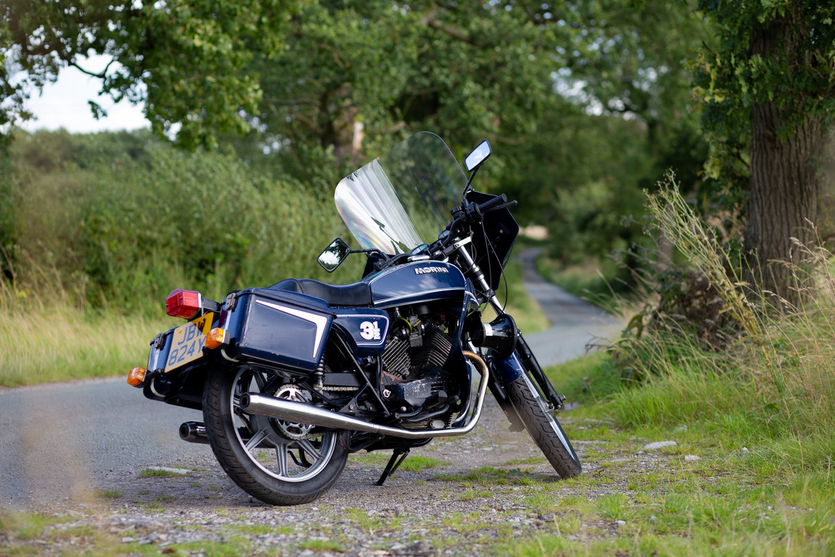 1982 Moto Morini Vigili Urbani - With working sirens For Sale (picture 2 of 6)