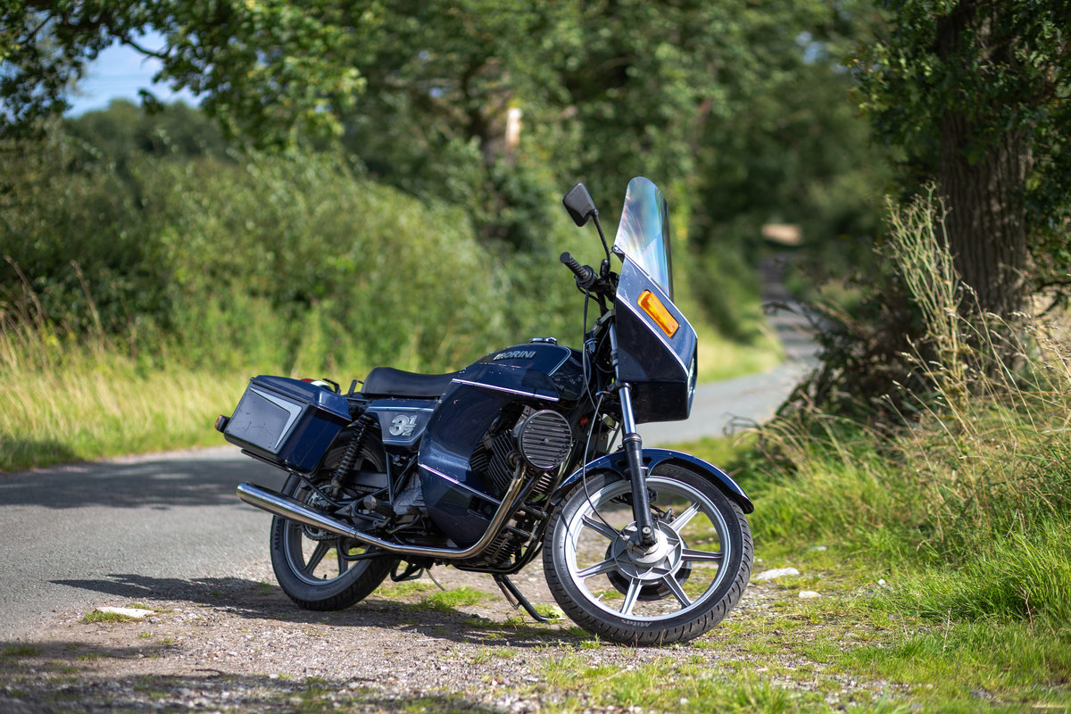 1982 Moto Morini Vigili Urbani - With working sirens For Sale (picture 4 of 6)