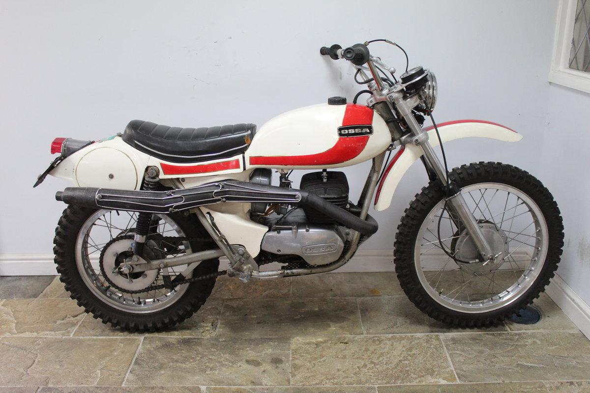1972 OSSA 250 E Enduro  Presented in original condition For Sale (picture 1 of 6)