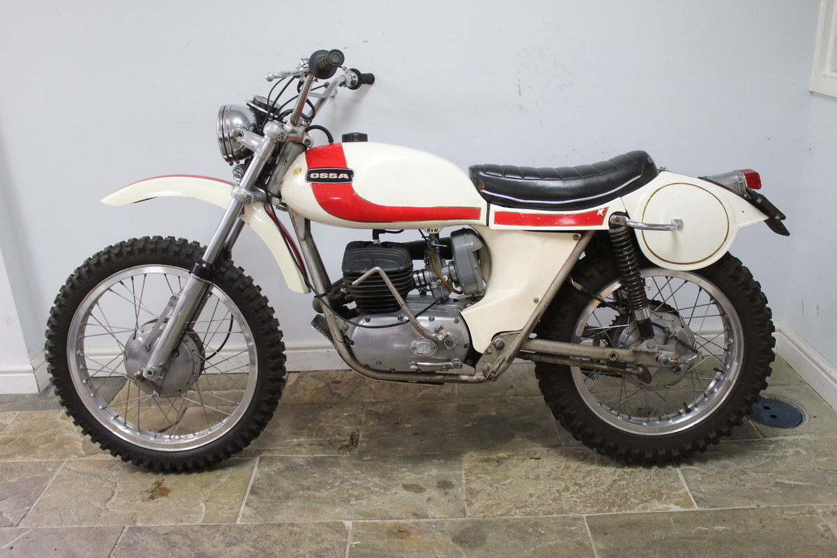 1972 OSSA 250 E Enduro  Presented in original condition For Sale (picture 4 of 6)