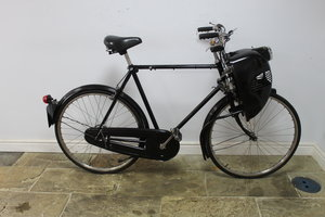 1952 Cymoto On A Period Raleigh Sports Tourist Bicycle   SOLD