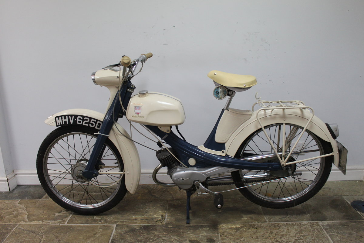 1966 NSU Quickly 49 cc Moped  Excellent and original  SOLD (picture 1 of 6)