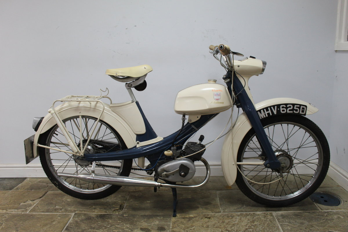1966 NSU Quickly 49 cc Moped  Excellent and original  SOLD (picture 2 of 6)