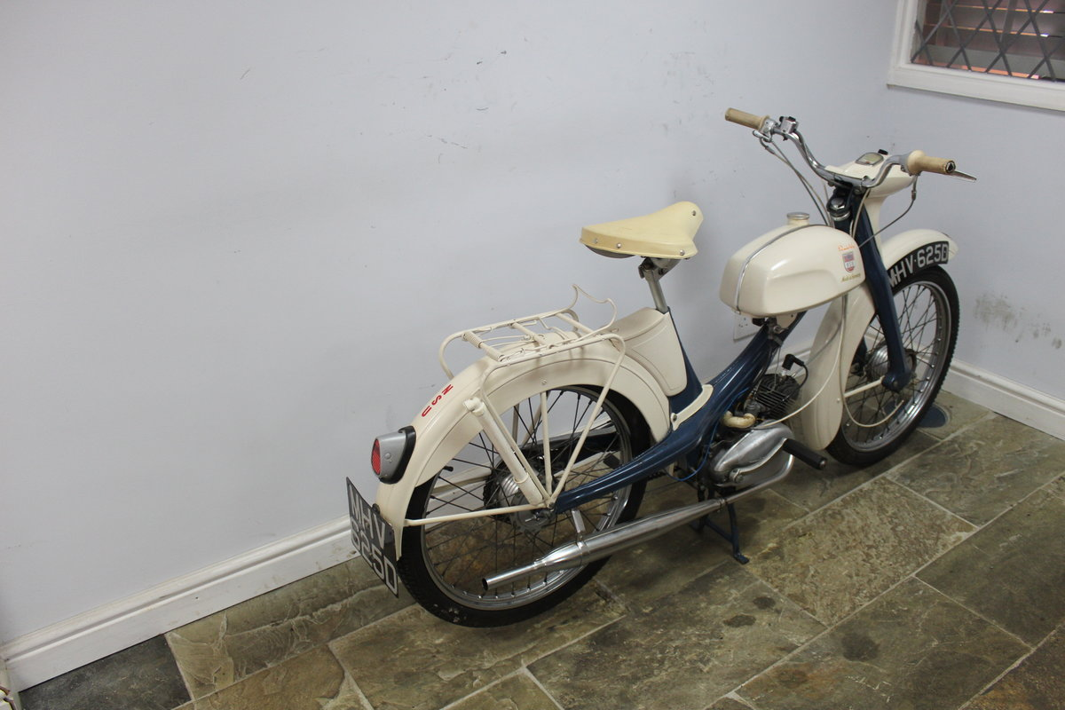 1966 NSU Quickly 49 cc Moped  Excellent and original  SOLD (picture 3 of 6)