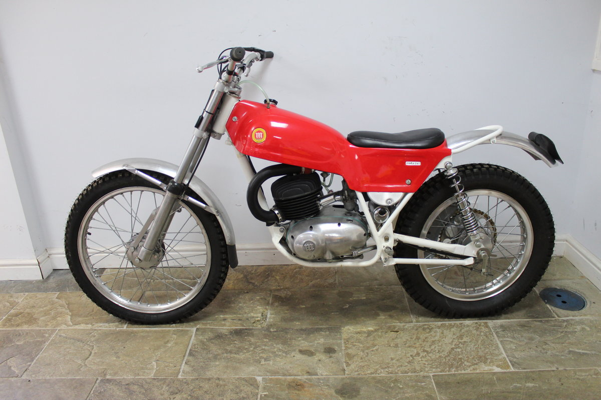 1970 Montesa  Cota 247 MK2 Trials Bike Truly Superb For Sale (picture 4 of 6)