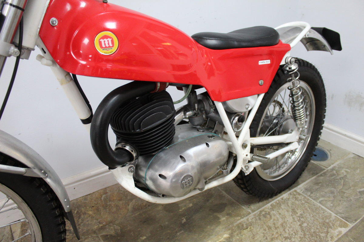 1970 Montesa  Cota 247 MK2 Trials Bike Truly Superb For Sale (picture 6 of 6)