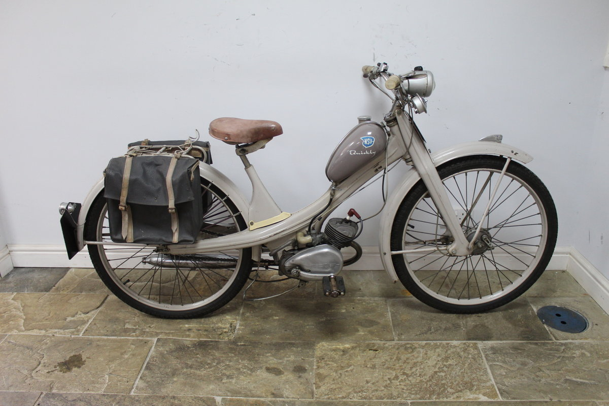 1955 NSU Quickly 49 cc Moped Beautiful ORIGINAL Untouched SOLD (picture 1 of 6)