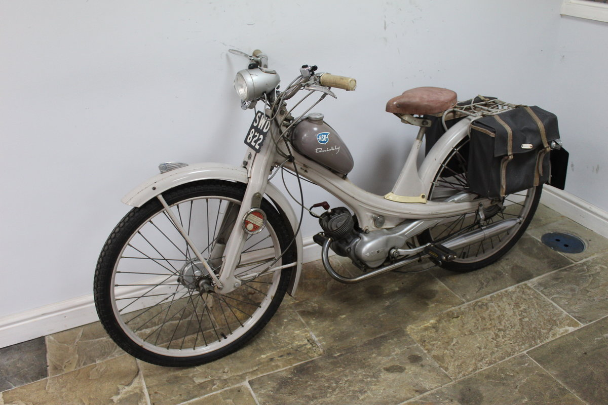 1955 NSU Quickly 49 cc Moped Beautiful ORIGINAL Untouched SOLD (picture 4 of 6)