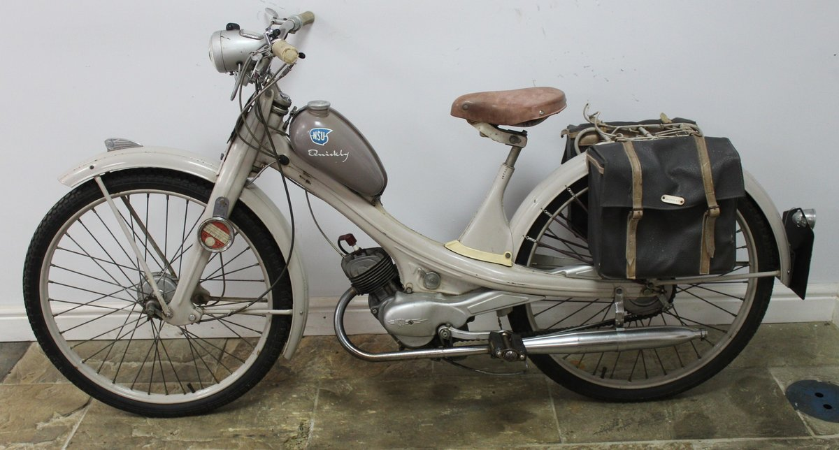 1955 NSU Quickly 49 cc Moped Beautiful ORIGINAL Untouched SOLD (picture 5 of 6)