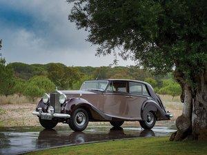 1953 Rolls-Royce Silver Wraith Saloon