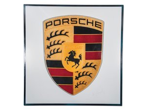 Porsche Dealership Large Plastic Sign For Sale by Auction