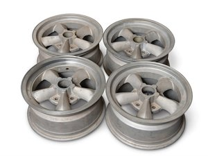 Set of Four Torque Thrust Wheels For Sale by Auction
