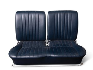 Porsche 356 Blue Vinyl Bench Seat For Sale by Auction