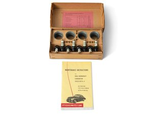 Porsche 356 A 1500 GS Carrera Solex 40 PII-4 Carburetor Kits For Sale by Auction