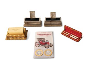 Ferdinand Porsche Engraved Plaques and Collectibles For Sale by Auction