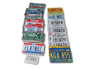 American License Plates For Sale by Auction
