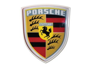 Porsche Plastic Dealership Sign For Sale by Auction