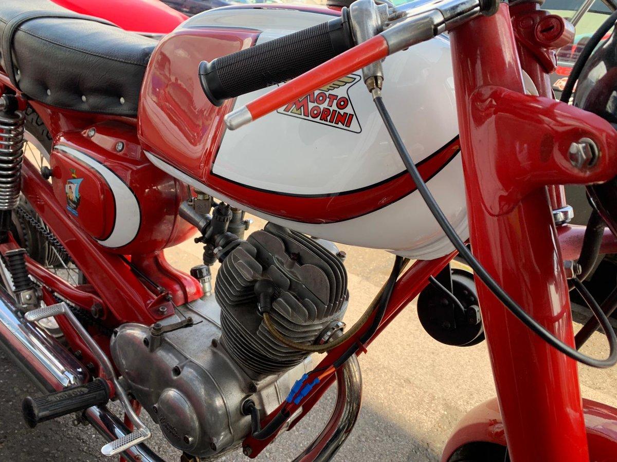 1959 Super Rare Moto Morini For Sale (picture 3 of 6)
