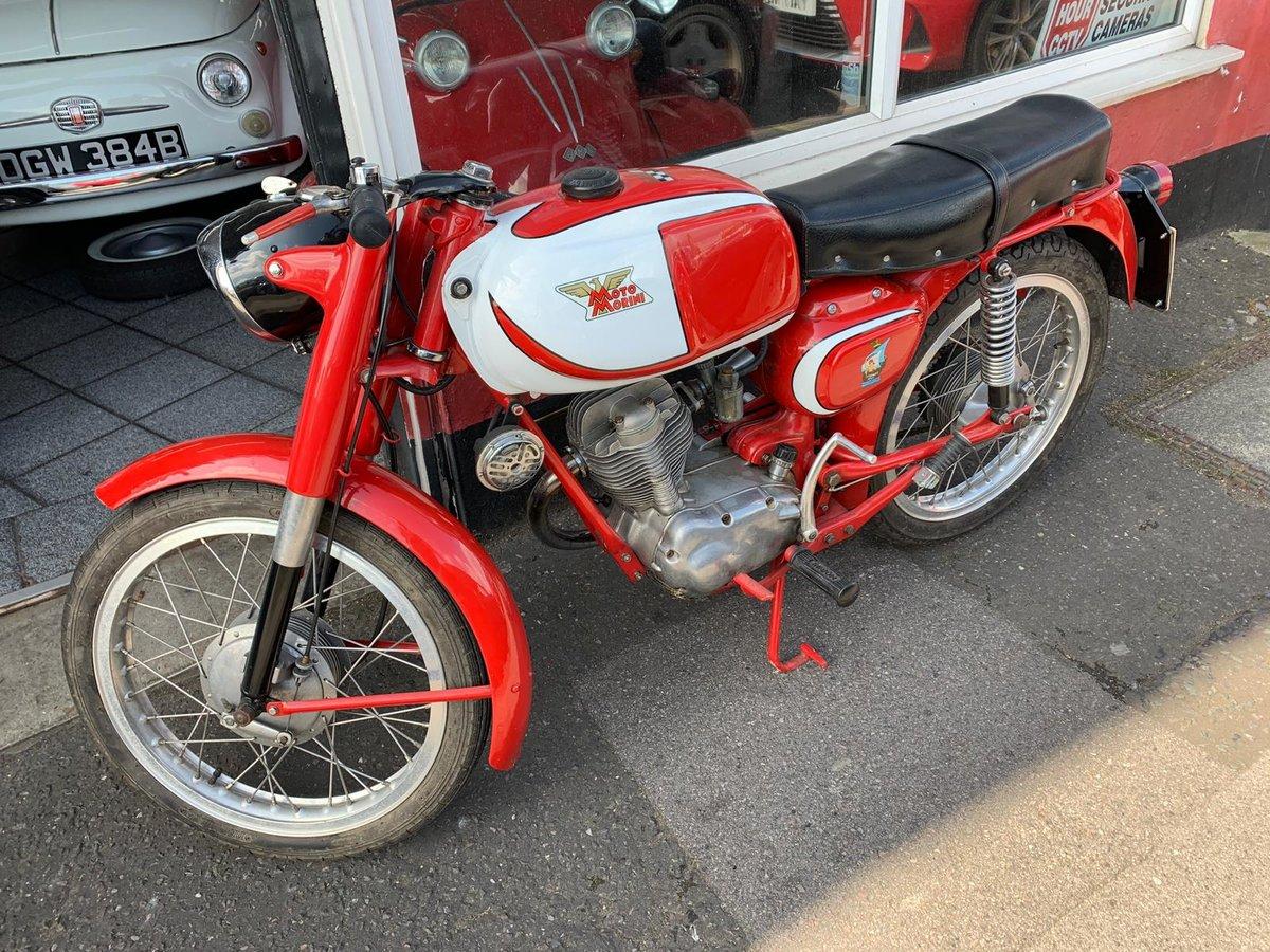 1959 Super Rare Moto Morini For Sale (picture 4 of 6)