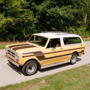 1980 International Scout II Traveler 4x4 Midas Edition Rare  For Sale