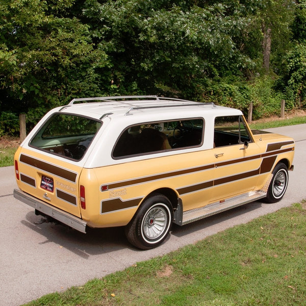 1980 International Scout II Traveler 4x4 Midas Edition Rare  For Sale (picture 4 of 5)
