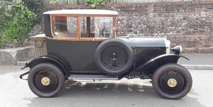 1922 MATHIS 8/15CV COACH For Sale by Auction