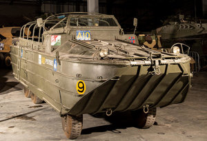 1942 DUKW 6X6 AMPHIBIOUS UTILITY For Sale by Auction