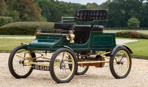 1903 STANLEY 6½HP MODEL A STEAM RUNABOUT For Sale by Auction