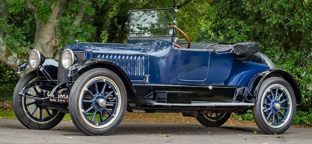 1917 STANLEY THREE-SEAT STEAM ROADSTER For Sale by Auction