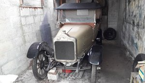 1921 CALCOTT 11.9HP TWO SEATER PLUS DICKEY PROJECT. For Sale by Auction
