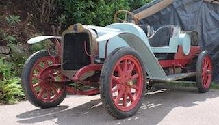 1912 MORS 2½-LITRE DÉCAPOTABLE PROJECT For Sale by Auction