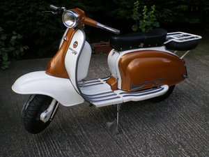 1971 Lambretta TV 175 Rep , Based on Li 150, 225cc lots spent !! For Sale