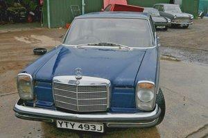 1971 MERCEDES BENZ 250 AUTOMATIC W114 60K MILES RESTORATION  For Sale