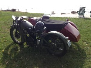 1939 Nimbus Model C with Engstrom SideCar  For Sale