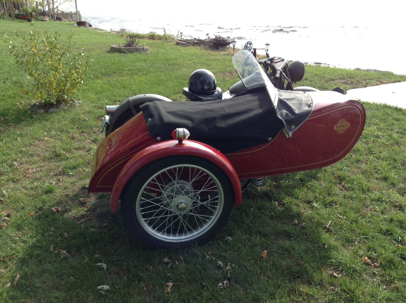 1939 Nimbus Model C with Engstrom SideCar  For Sale (picture 2 of 2)