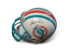 Dan Marino Miami Dolphins Autographed Helmet For Sale by Auction