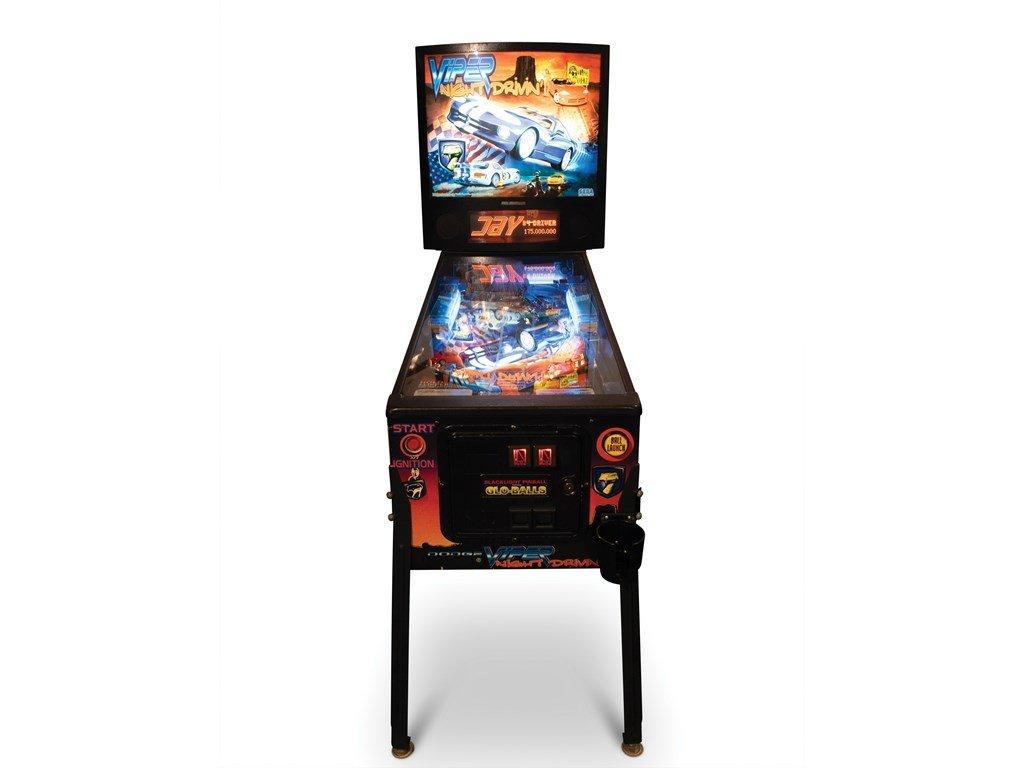 Viper Night Drivin Pinball Machine by SEGA For Sale by