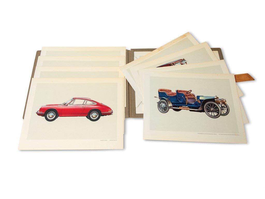 Porsche Car Prints For Sale by Auction (picture 1 of 3)