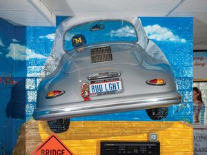 Porsche 356 A Rear End Display For Sale by Auction