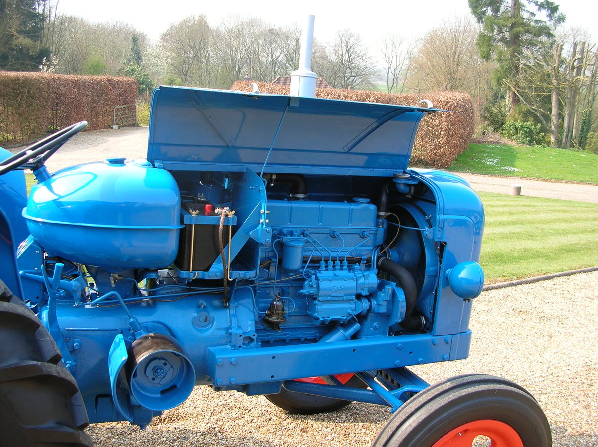 1955 Fordson Major Diesel SOLD (picture 2 of 5)