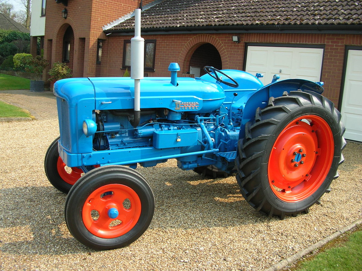 1955 Fordson Major Diesel SOLD (picture 4 of 5)