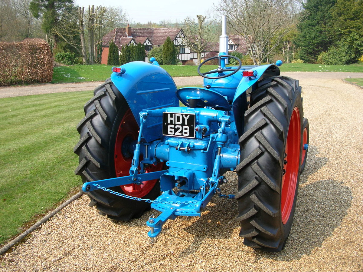 1955 Fordson Major Diesel SOLD (picture 5 of 5)