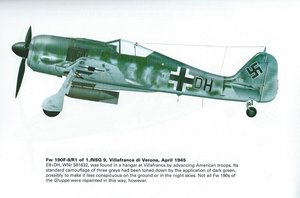 1940 Focke Wulf 190, WW2 Plane,  For Sale