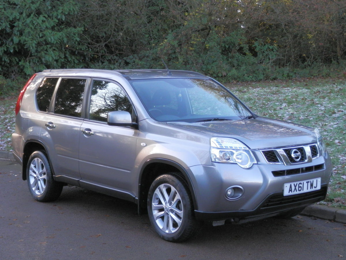 2012 NISSAN X-TRAIL 2.0 DCi ACENTA.. 6 SPEED MANUAL.. 4WD For Sale (picture 2 of 6)
